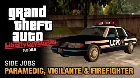 GTA Liberty City Stories Mobile - Paramedic, Vigilante & Firefighter
