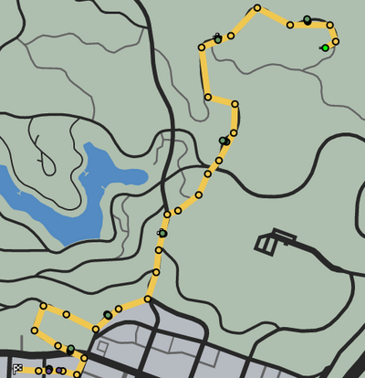 On Yer Bike GTAO Race Map