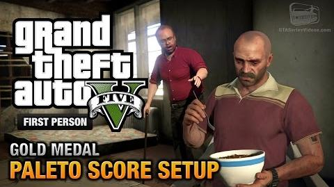 GTA 5 - Mission 49 - Paleto Score Setup First Person Gold Medal Guide - PS4