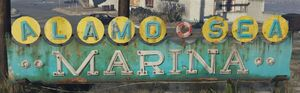 Alamo Sea Marina GTAV Sign
