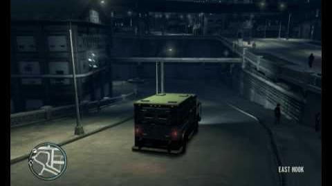 Cracking the securicar for easy money- GTA4
