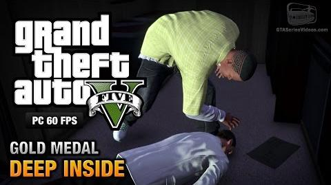 GTA 5 PC - Mission 46 - Deep Inside Gold Medal Guide - 1080p 60fps