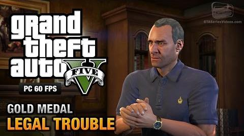 GTA 5 PC - Mission 66 - Legal Trouble Gold Medal Guide - 1080p 60fps