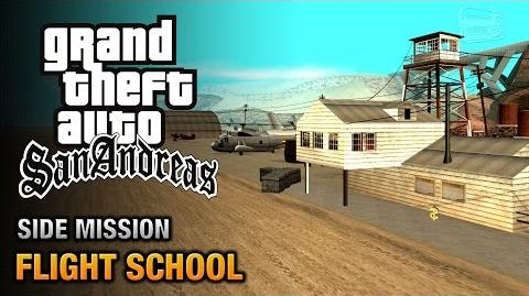 GTA San Andreas - Pilot School