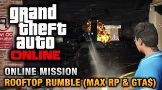 GTA Online - Mission - Rooftop Rumble 1.13 Max RP & Money - 2 Players