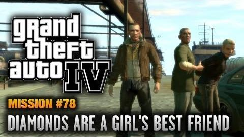 GTA 4 - Mission 78 - Diamonds are a Girl's Best Friend (1080p)