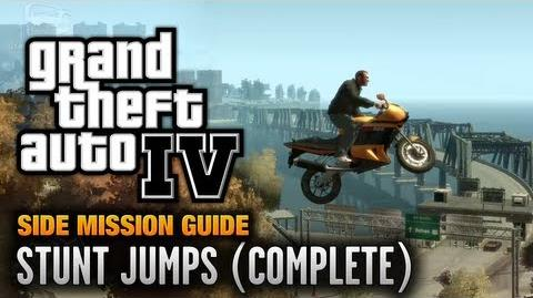 GTA 4 - Stunt Jumps Dare Devil Achievement Trophy (1080p)