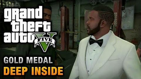 GTA 5 - Mission 46 - Deep Inside 100% Gold Medal Walkthrough