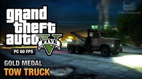 GTA 5 PC - Mission 38 - Tow Truck Gold Medal Guide - 1080p 60fps