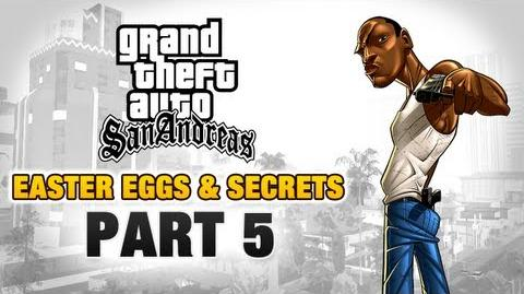 GTA San Andreas - Easter Eggs and Secrets - Part 5