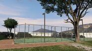 Parsons-tenniscourt