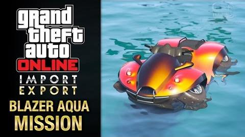 GTA Online Import Export - Special Vehicle Work 3 - Blazer Aqua Mission (Cleanup Op)