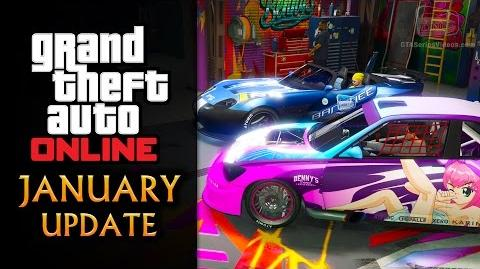 GTA Online January Update - Custom Banshee & Sultan at Benny's