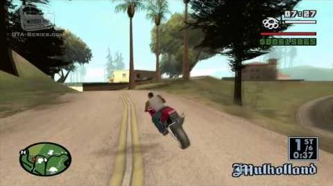 GTA San Andreas - Walkthrough - Street Race - Backroad Wanderer (HD)