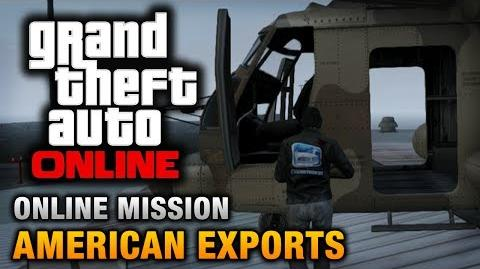 GTA Online - Mission - American Exports Hard Difficulty