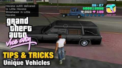 GTA Vice City - Unique Vehicles