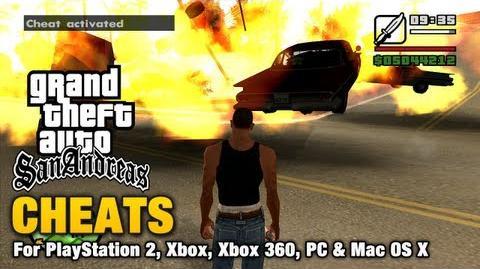 Cheats in Grand Theft Auto: San Andreas   GTA Wiki   Fandom