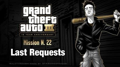 GTA 3 - iPad Walkthrough - Mission 22 - Last Requests