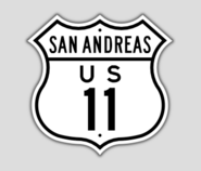 1948 Style US Route 11 Shield