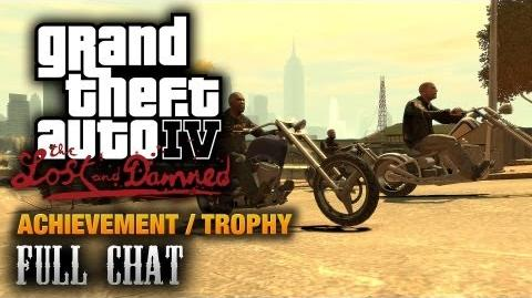 GTA The Lost and Damned - Full Chat Achievement Trophy (1080p)