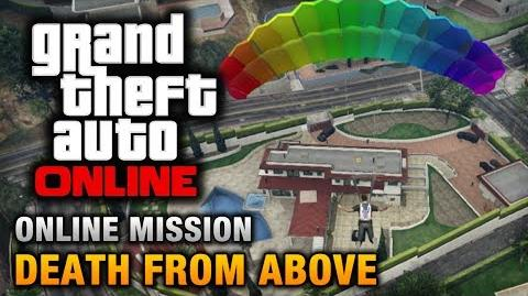 GTA Online - Mission - Death From Above Hard Difficulty