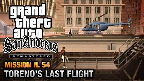 GTA San Andreas Remastered - Mission 54 - Toreno's Last Flight (Xbox 360 PS3)