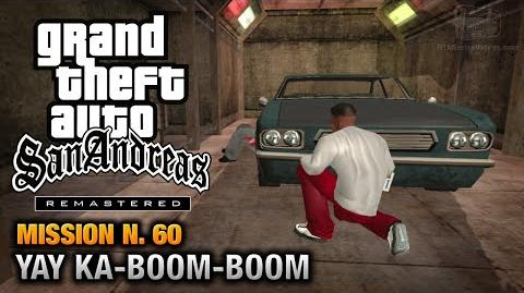 GTA San Andreas Remastered - Mission 60 - Yay Ka-Boom-Boom (Xbox 360 PS3)