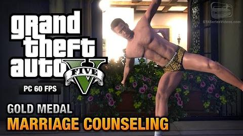 GTA 5 PC - Mission 6 - Marriage Counseling Gold Medal Guide - 1080p 60fps
