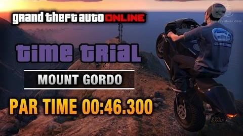 GTA Online - Time Trial 4 - Mount Gordo (Under Par Time)