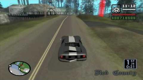 GTA San Andreas - Walkthrough - Street Race - Country Endurance (HD)