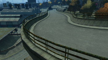 Greene Avenue-GTAIV-North