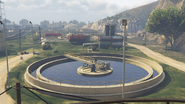 Zancudo Treatment Works GTAV Oxidation Ponds