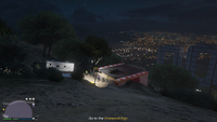 Vehicle Import Movie Stunt GTAO Vinewood Sign