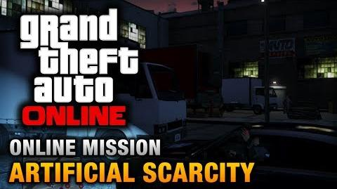 GTA Online - Mission - Artificial Scarcity Hard Difficulty