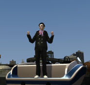 Bernie crane on a boat GTAIV