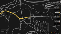 Vehicle Import Crime Scene GTAO Route 68 Map