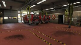 El Burro Heights Fire Station No 7 GTAV Interior View