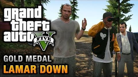 GTA 5 - Mission 70 - Lamar Down 100% Gold Medal Walkthrough