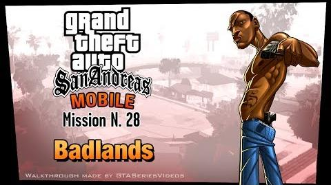GTA San Andreas - iPad Walkthrough - Mission 28 - Badlands (HD)