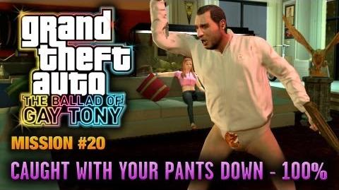 GTA The Ballad of Gay Tony - Mission 20 - Caught with your Pants Down 100% (1080p)