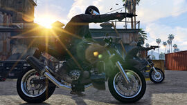 Principe Bike GTAV Heist Screenshot