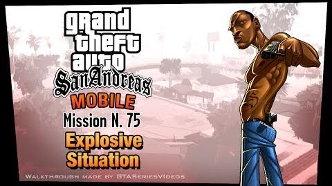 GTA San Andreas - iPad Walkthrough - Mission 75 - Explosive Situation (HD)
