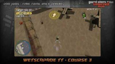 GTA Chinatown Wars - Walkthrough - Time Trial Race - Wetscapade TT - Course 3