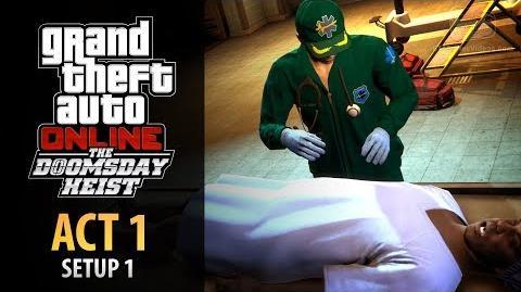 GTA Online Doomsday Heist Act 1 - Setup Dead Courier (Elite & Mastermind II)