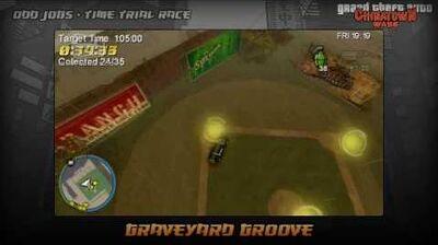 GTA Chinatown Wars - Walkthrough - Time Trial Race - Graveyard Groove