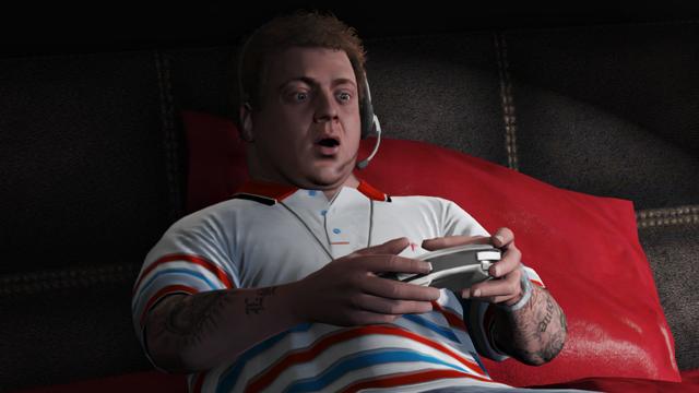 gta 5 jimmy playing video games