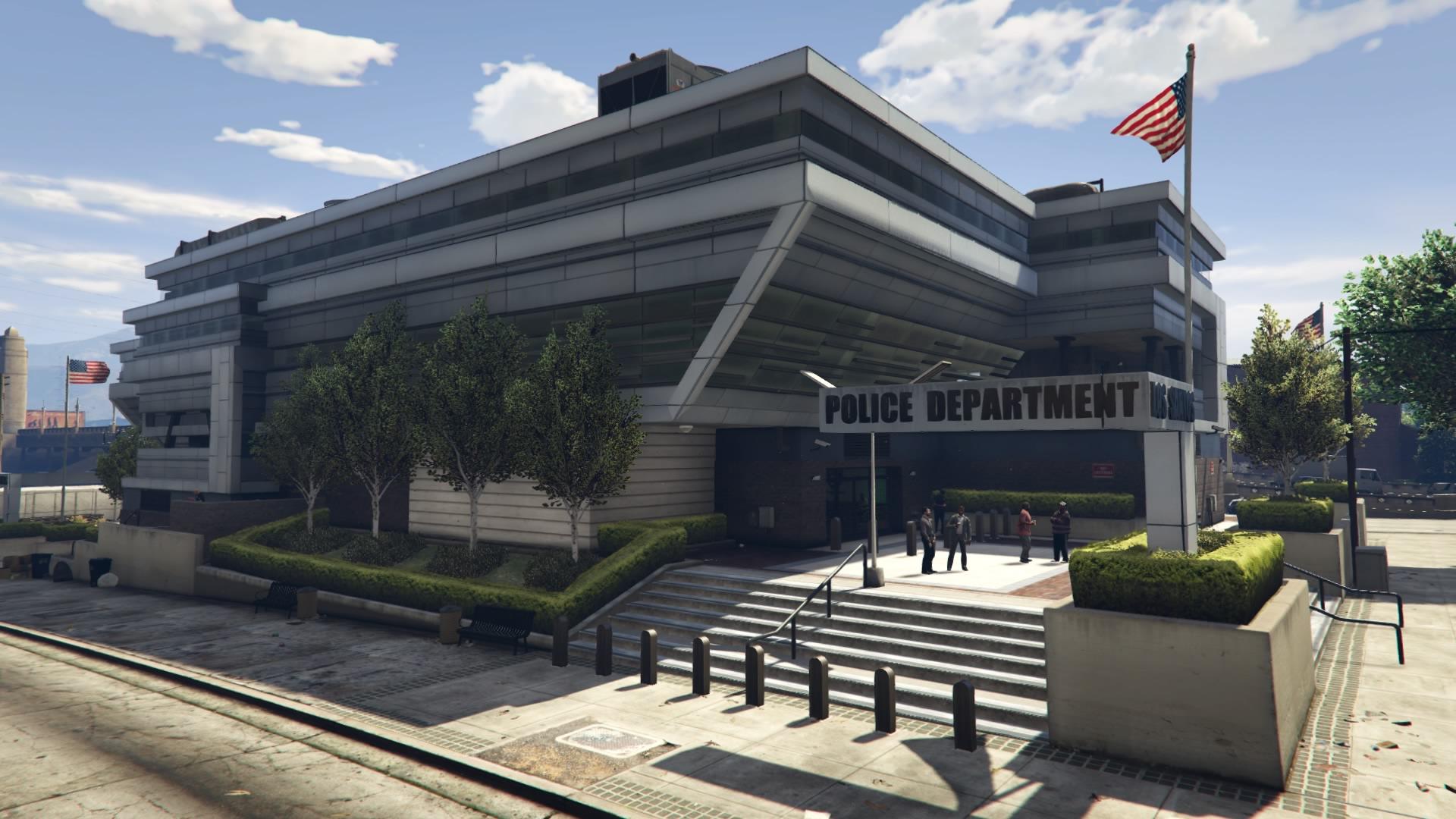 Mission Row Police Station | GTA Wiki | FANDOM powered by Wikia