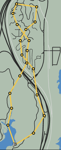 Crosswind GTAO Race Map