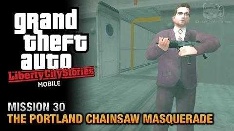 GTA Liberty City Stories Mobile - Mission 30 - The Portland Chainsaw Masquerade