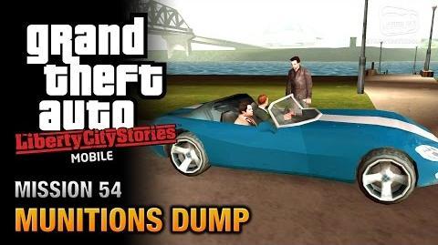 GTA Liberty City Stories Mobile - Mission 54 - Munitions Dump